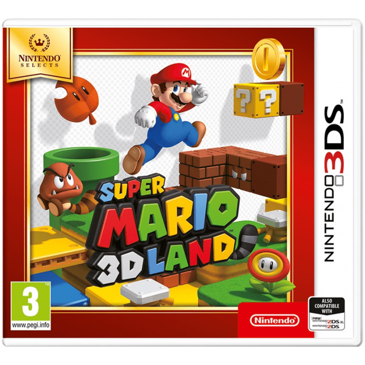Игра для Nintendo 3DS Super Mario 3D Land