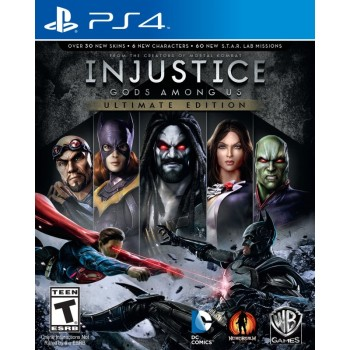 Injustice: Gods Among Us Ultimate Edition (Playstation 4)