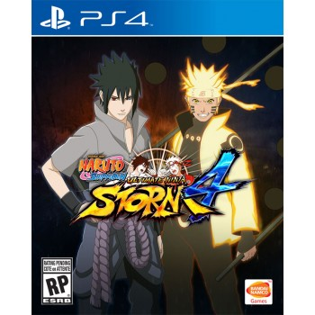 Naruto Shippuden: Ultimate Ninja Storm 4 (Playstation 4)