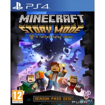 Minecraft: Story Mode - Complete Adventure [эпизоды 1-8] (Playstation 4)