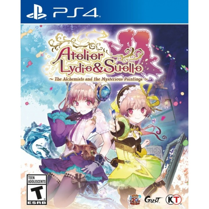 Игра для Playstation 4 Atelier Lydie & Suelle: The Alchemists & The Mysterious Paintings