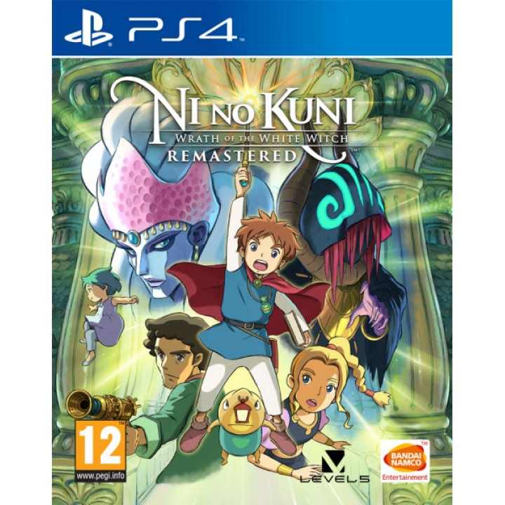 Игра для  Playstation 4 Ni no Kuni: Гнев Белой ведьмы. Remastered