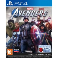 Мстители Marvel [Avengers] (Playstation 4)