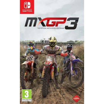 MXGP 3 The Official Motocross Videogame (Nintendo Switch)