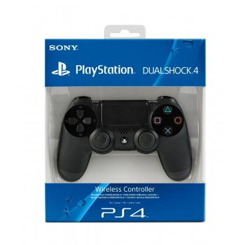 Геймпад Dual Shock 4 (Playstation 4) черный (версия 2.0)